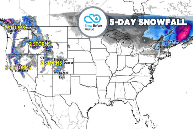 Head High for Heavy Snow: 4.4 Snow B4U Go- ©Meteorologist Chris Tomer