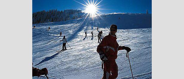 Wilder Kaiser - sunny slopes