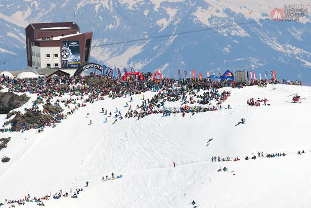 5 dôvodov, prečo lyžovať vo Verbier- ©freerideworldtour.com / Christoffer Sjöström