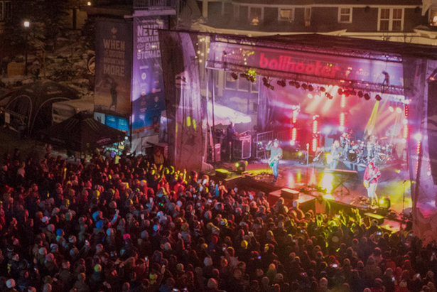 Ballhooter Music Festival at Snowshoe Mountain.  - © Snowshoe Mountain
