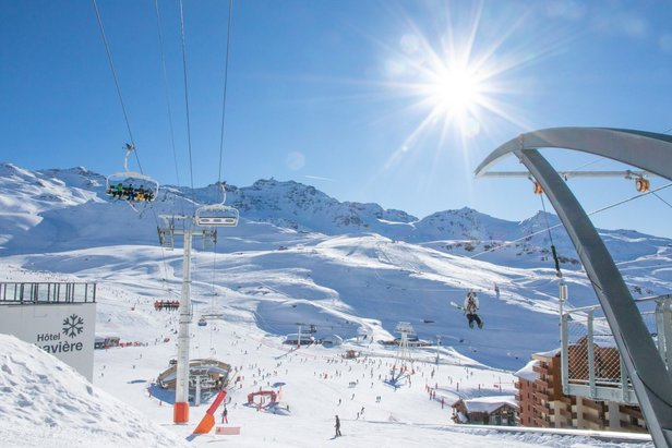 Beautiful conditions in Val Thorens (21.2.20)
