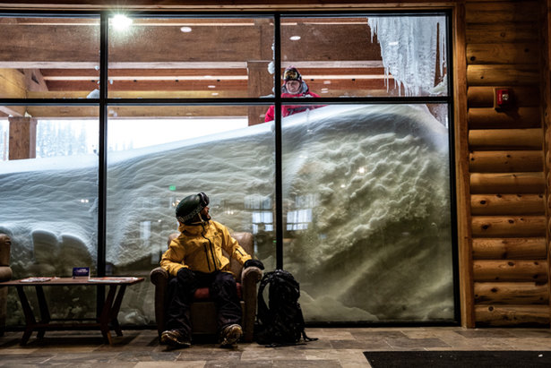 As the storms rage on, fresh powder dreams become a reality at Brian Head Resort.  - © Jay Dash