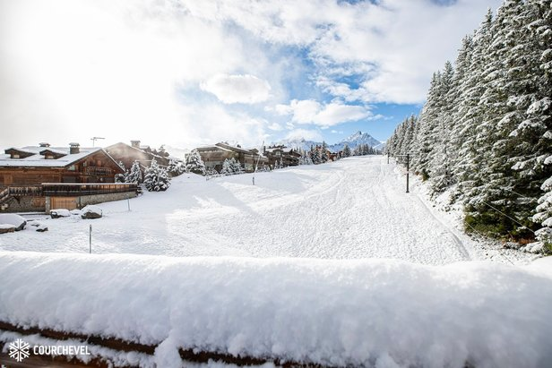 Courchevel 5.11.19  - © Courchevel/Facebook