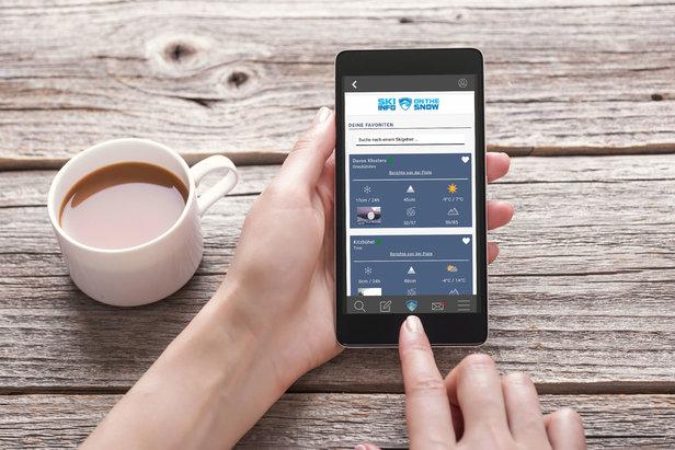 Die Skiinfo App bietet viele Features und Infos zu den Skigebieten