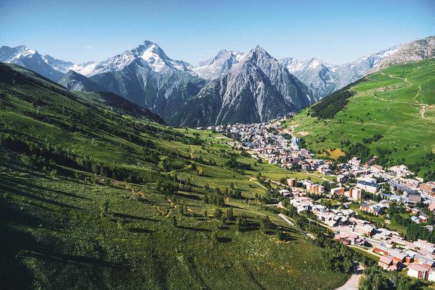 Les 2 Alpes, une destination pour l'été !