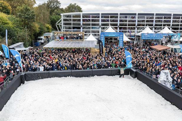 Mount Battersea is always a crowd pleaser  - © Ski & Snowboard Festival