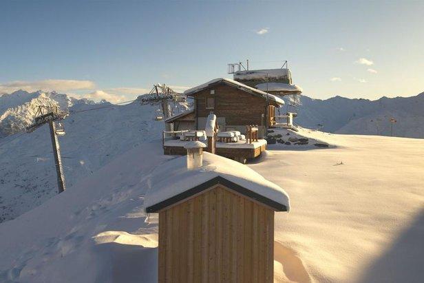 Pierwszy  śnieg we francuskim Valmeinier  - © Webcam Roundshot