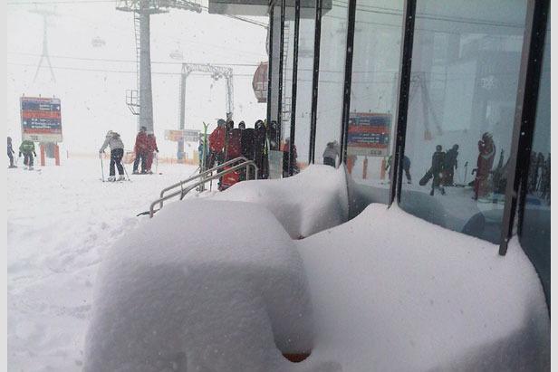 Beste Skibedingungen über Weihnachten- ©Stubaier Gletscher