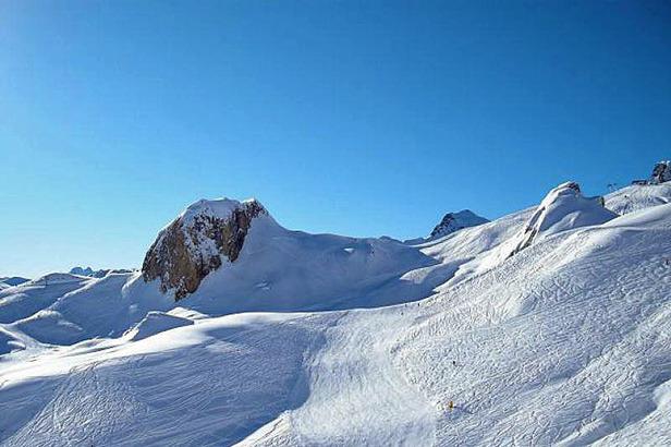 Das Skigebiet Samnaun: Der gemütliche Bruder von Ischgl ©Markus Hahn