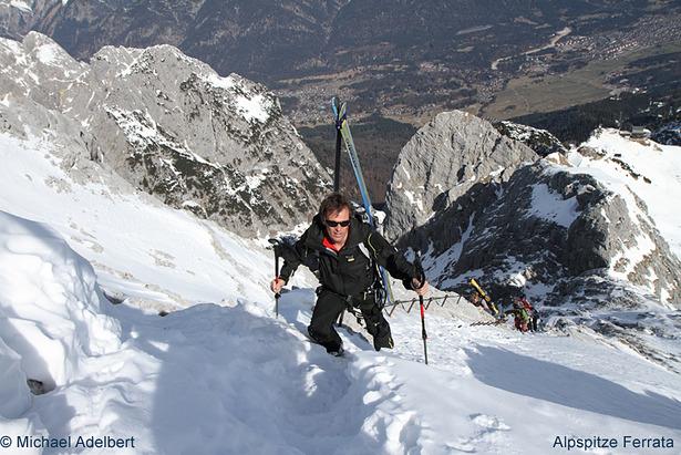 Klettersteig Alpspitze : Die alpspitze ein skitourenklassiker im frühjahr