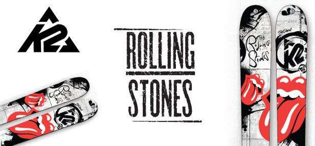 K2 launcht exklusive Rolling Stones Ski Kollektion- ©K2