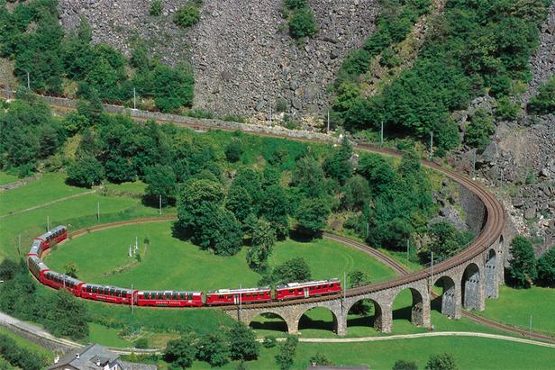 Traumangebote: Dolce Vita mit Rhätische Bahn UNESCO Pass- ©Graubünden Ferien
