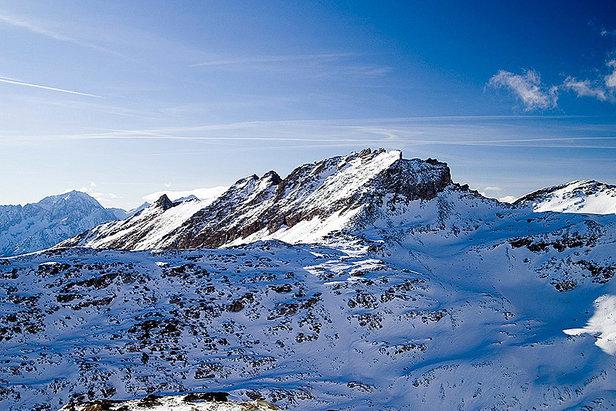 Schnee auf dem Mölltaler Gletscher