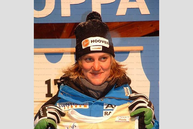 Elena Fanchini setzt Trainings-Bestzeit in Lake Louise- ©Krapfenbauer/XnX