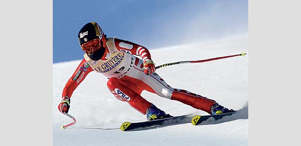 Kostner tauscht Ski gegen Wiege ein ©Fischer/gepa-pictures