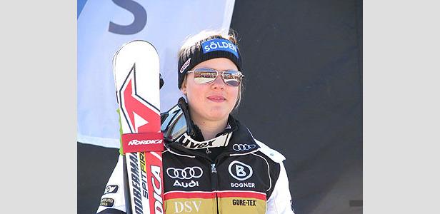 Viktoria Rebensburg gewinnt Weltmeistertitel im Super-G ©Stefan Stankalla