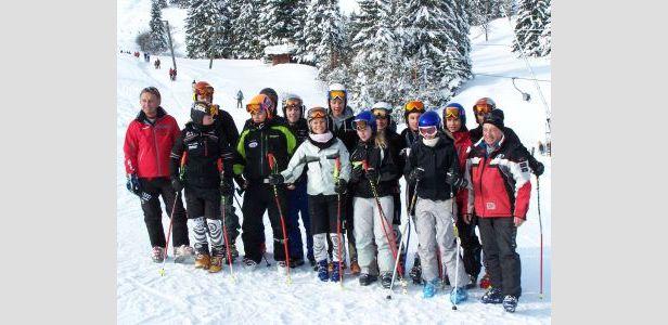 Olympische Disziplin Ski Cross im Aufwind- ©Hans Gerzer
