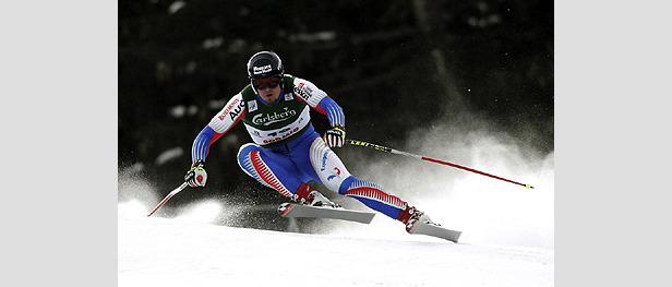 Didier Cuche erneut Schnellster beim Training in Gröden- ©Atomic