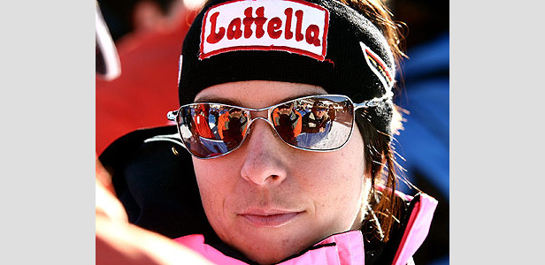 Anja Pärson fährt Bestzeit im ersten Training ©G. Löffelholz / XnX GmbH