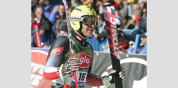 Johann Grugger gewinnt die Abfahrt von Bormio ©Gerhard Möhsner