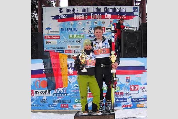 Julia Manhard und Andi Schauer sind Junioren-Weltmeister- ©Heli Herdt