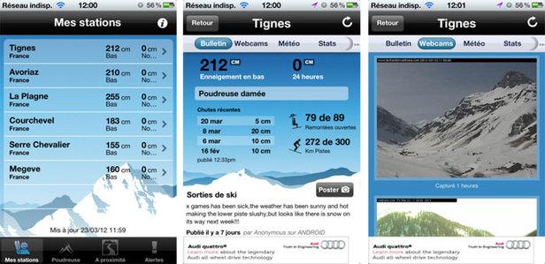 App Skiinfo Neve & Sci