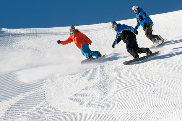 Learning to Snowboard at Squaw