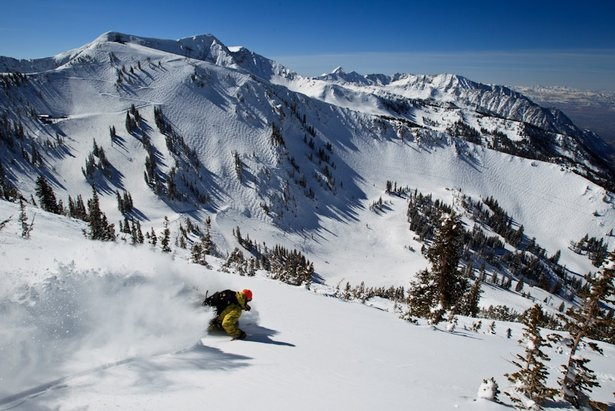 Snowbird, one of Utah's premier resorts, is a playground for advanced skiers and boarders looking for steep and deep terrain.