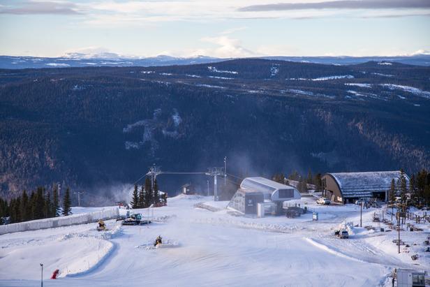 Bra alpinforhold - over 25 åpne anlegg- ©Hafjell