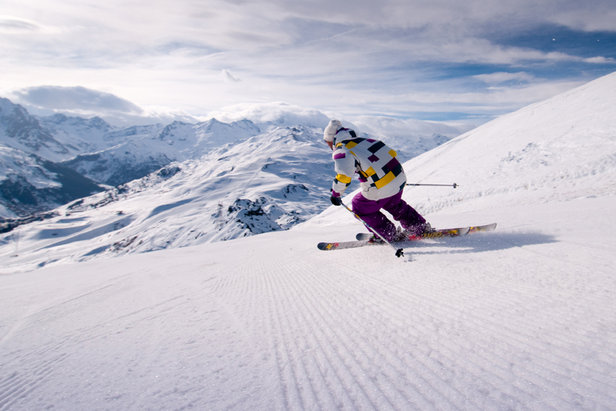 Room to stretch your legs on the ski slopes of Meribel  - © Meribel Tourism
