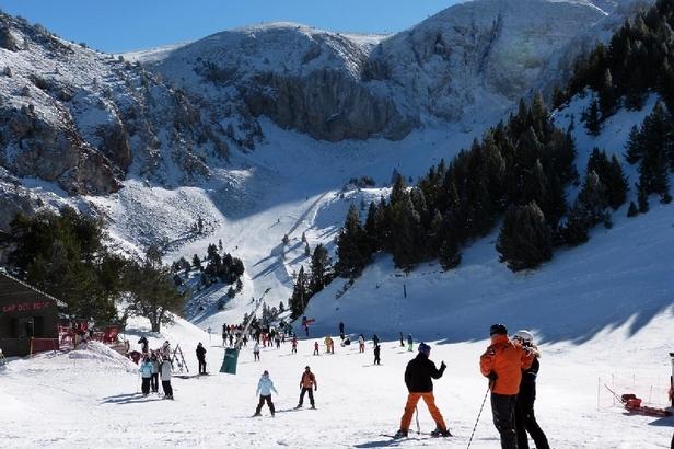 72 km esquiables en Alp 2500 ©Masella