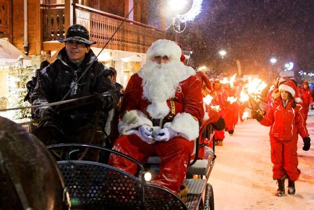 Passer Noël skis aux pieds ! - ©Nicolas Heu / OT les Gets