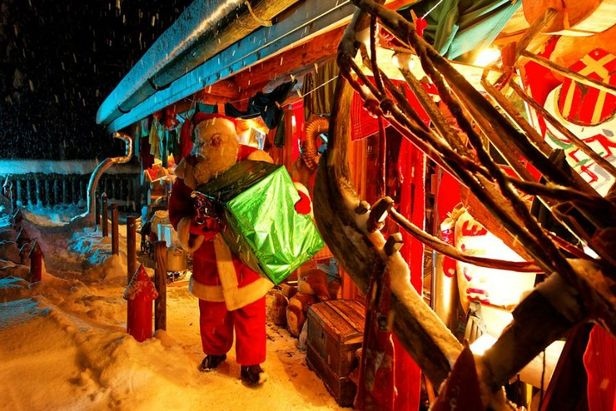Féérie de Noël aux Gets