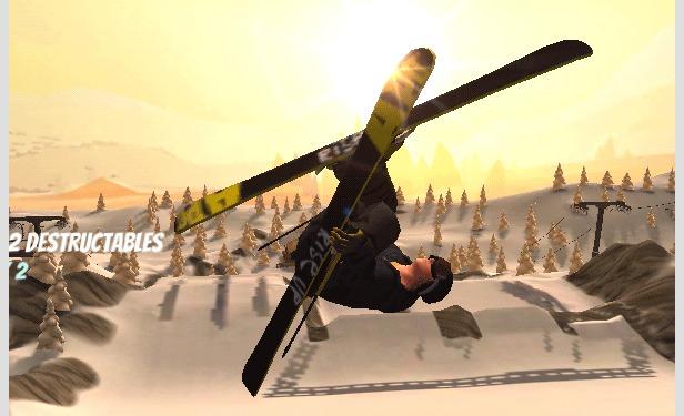 APO-Snow, le jeu de freeski et de snowboard pour smartphone