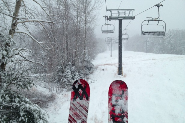 Where's the Snow this Weekend: East Coast Report 12/20/12- ©Brian Clark
