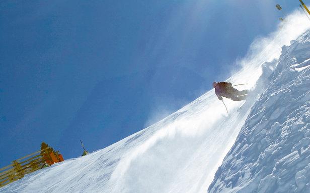 TOP 10 najstrmších zjazdoviek v Alpách: Lyžovačka v čiernych farbách!- ©Mayrhofner Bergbahnen AG