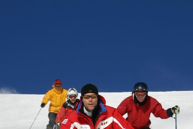 Lær at stå på ski og undgå skiskader- ©Den Danske Skiskole