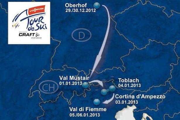 Tour de Ski 2013 - 7a edizione