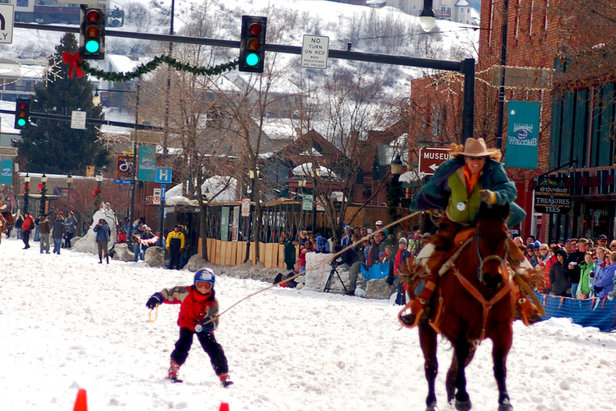 The Winter Carnival in downtown Steamboat Springs has street events down Lincoln Avenue.  - © Photo courtesy Shannon Lukens