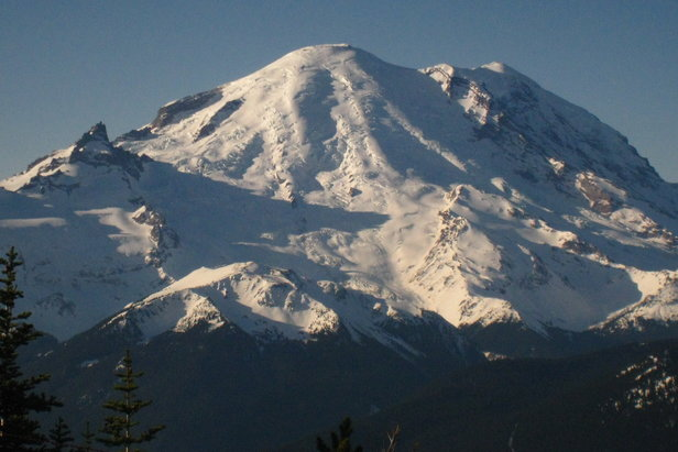 Crystal Mountain: view of Mt. Rainier from Summit HousePhoto by Becky Lomax  - © Becky Lomax