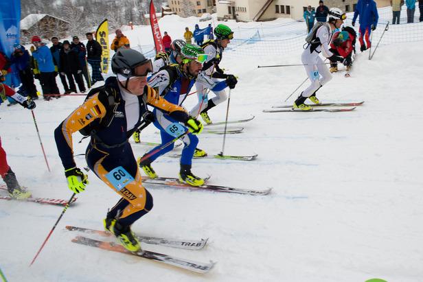 Seppi Rottmoser holte bei der WM im Skibergsteigen Gold