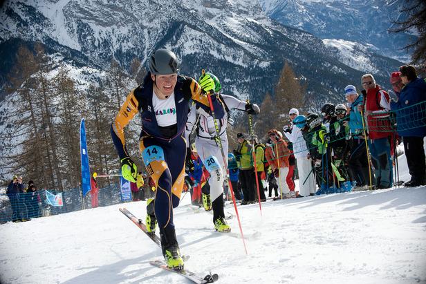 Sepp Rottmoser holte bei der WM der Skibergsteiger Gold im Sprint