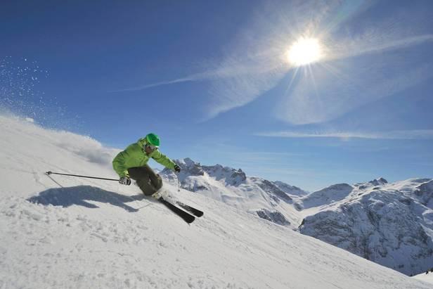 Skiing in Lech Zuers / Arlberg