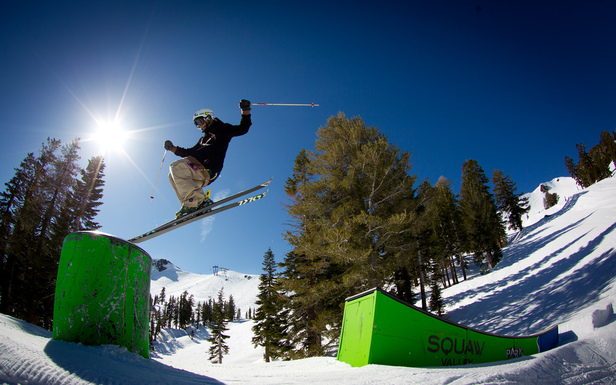Squaw Valley Terrain Park Update: 22-Foot Super Pipe Now Open- ©Jeff Engerbretson & Squaw Valley