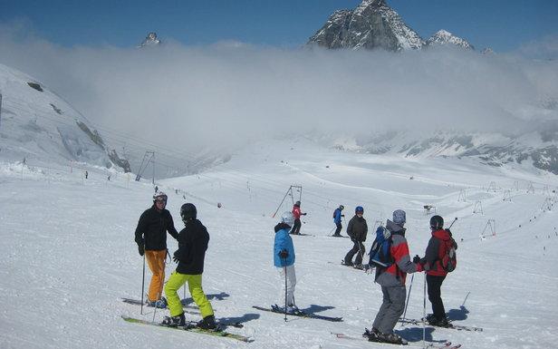 Májová lyžovačka v Zermatte  - © Patrick Thorne