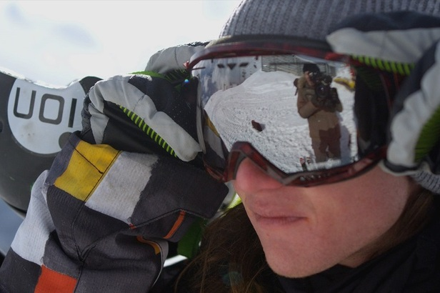 OTS interview with UK freeskier James 'Woodsy' Woods ©BBC
