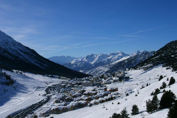 Excellentes conditions de ski dans les Alpes du Sud (ici Montgenèvre)