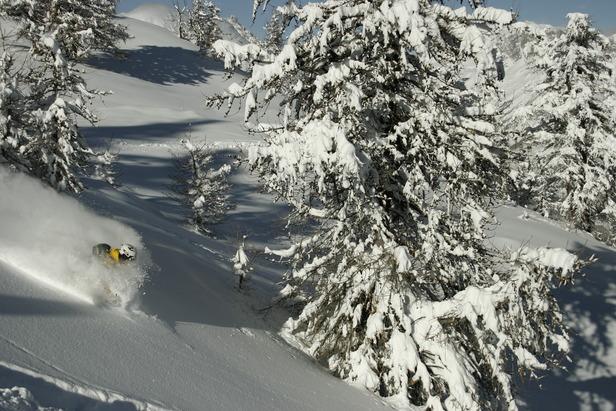 Påsken er reddet. Mere end 1 meter sne på under 24 timer! ©Jeppe Hansen