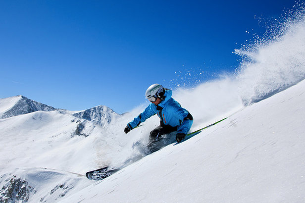 The Epic Pass grants access to Breckenridge's 3,398 feet of vertical.