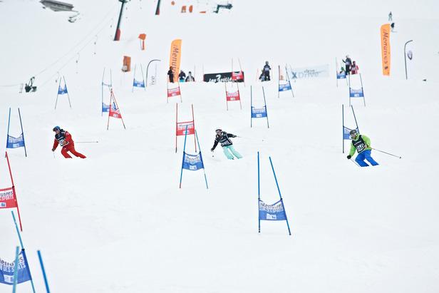 Epreuve de slalom parallèle du 3 Vallées Enduro